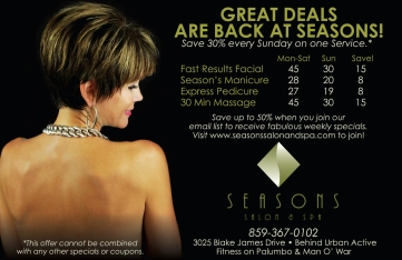 Half Page Ad For Tops and LexScene Magazines in Lexington