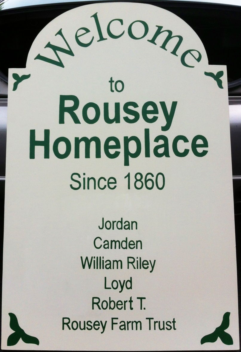 Rousey Homeplace Since 1860