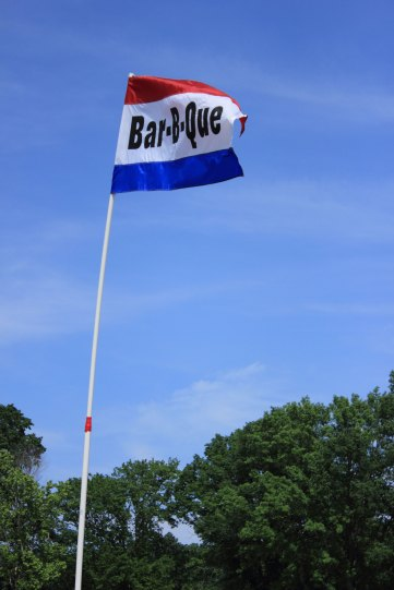 BBQ Flag at the Chesapeake Jubilee BBQ Cook-Off.