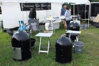The Piedmont Pit BBQ Team.