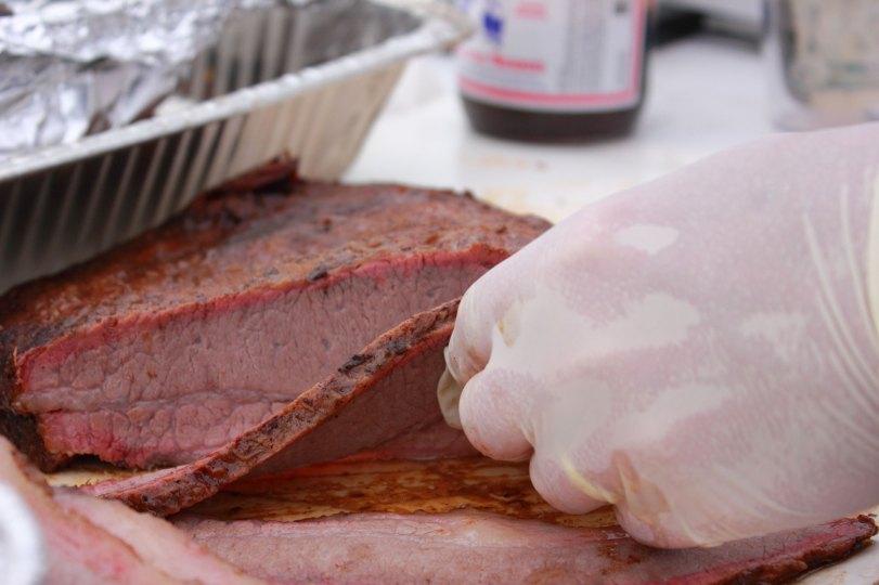Rob-a-Que's beef brisket.