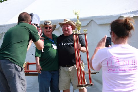 The Reserve Champion: Belmont House of Smoke.