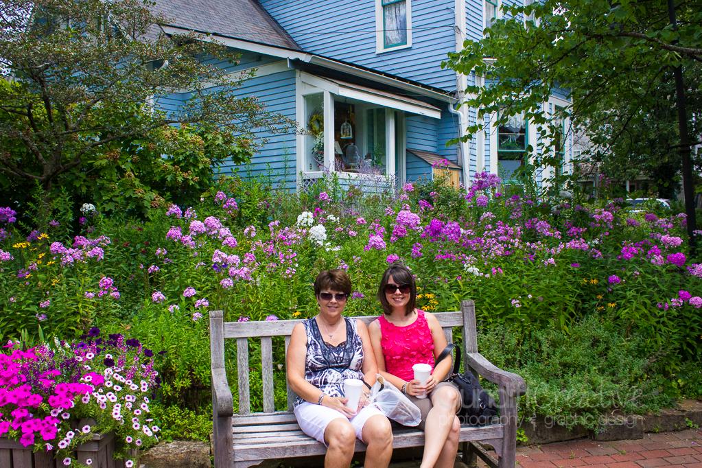 Alonna Bailey and Sarah Duckworth