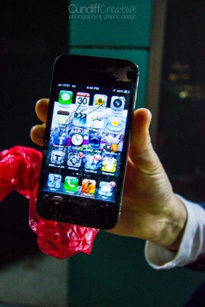 Christina's Broken iPhone