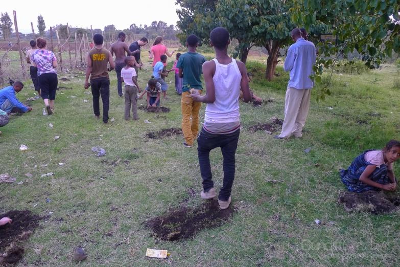 PCT's Planting trees
