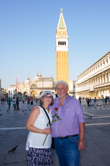 Campanile seen from the Piazza