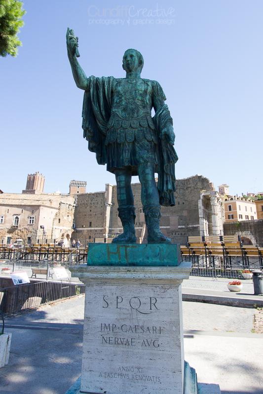 Caesar, Rome
