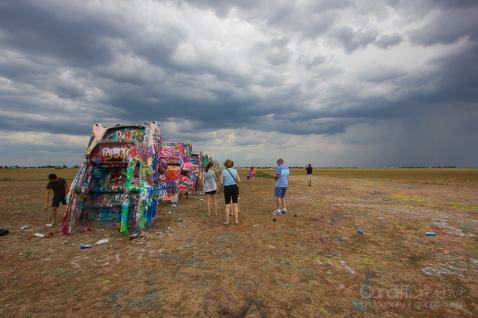 Cadillac Ranch-Amarillo, Texas